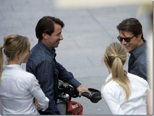 Cameron Diaz & Tom Cruise & their Stuntpeople Celebrities Stunts