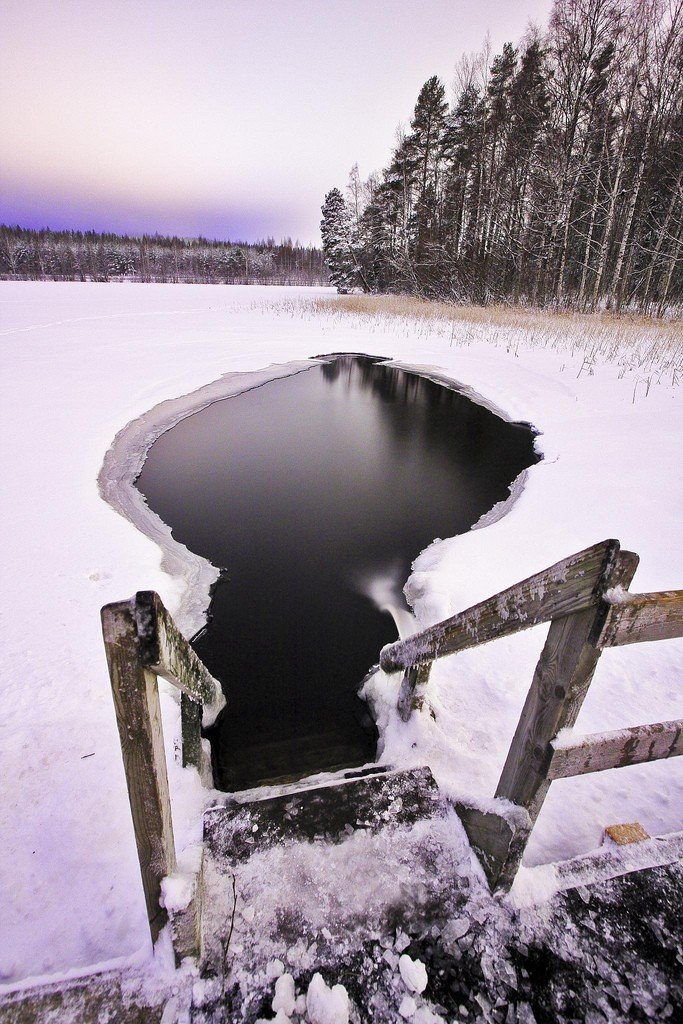 Can you survive the Ice Water, Finland Adventure travel ideas