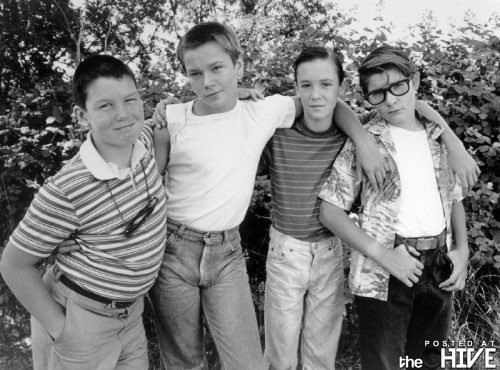 Cast of Stand by Me Rare Photo