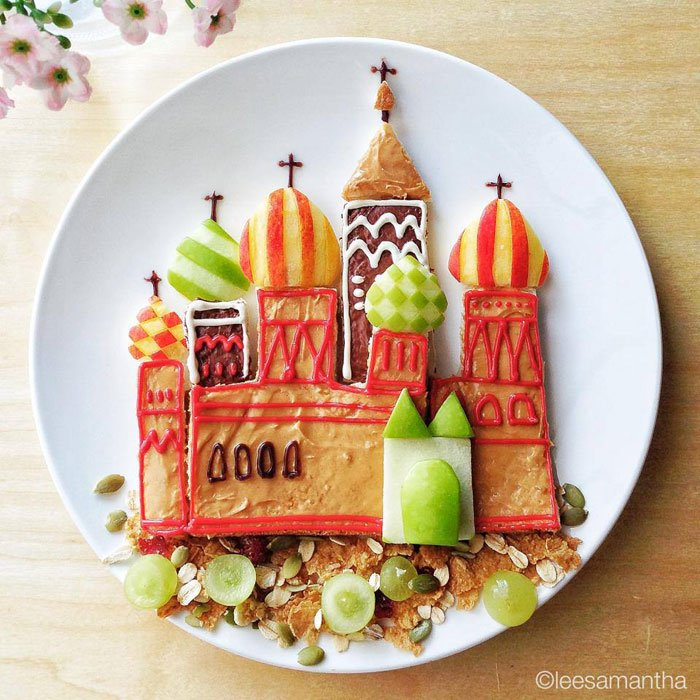 Castle kids would love to eat Food Artists