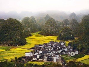 Chinese Village Small Towns
