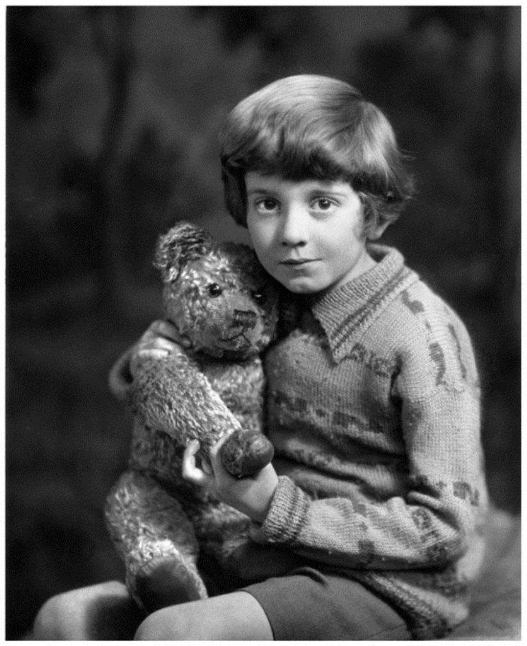 Christopher Robin Rare Photo