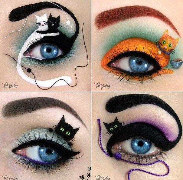 Creative Cat eyes Eye Makeup