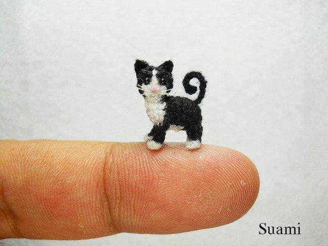 Cute Cat Tiny Crochets