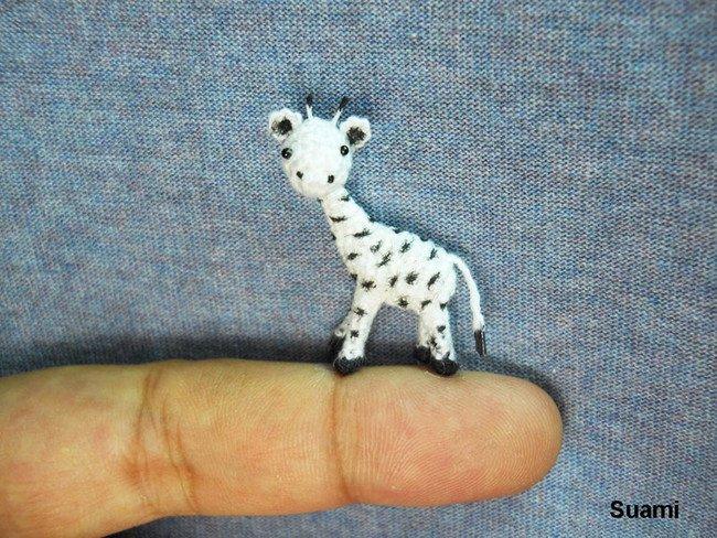 Cute Giraffe Tiny Crochets