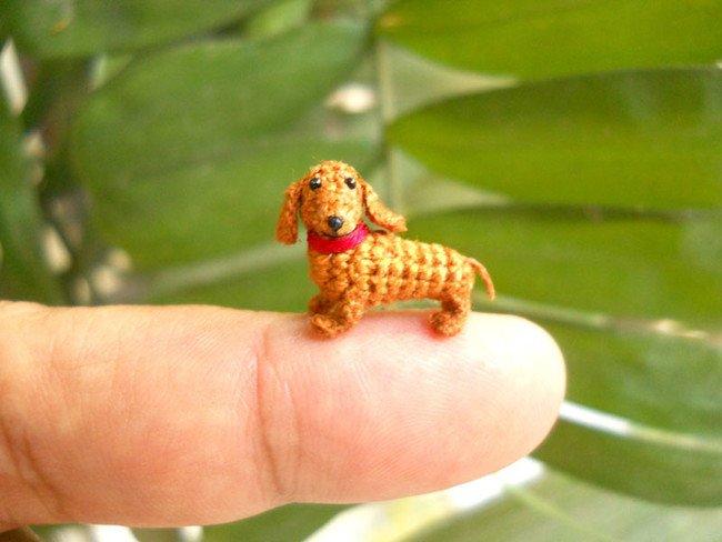 Cute Puppy Tiny Crochets