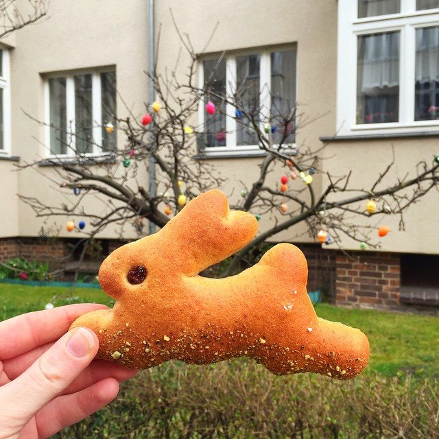 Eat your Easter Bunny Food Art