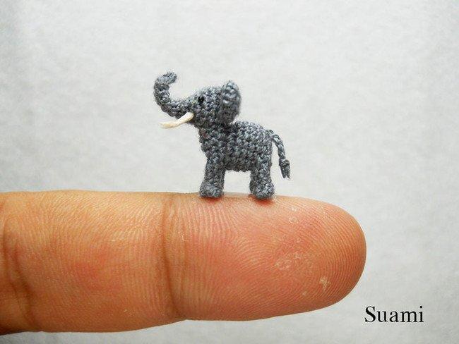 Elephant Tiny Crochets
