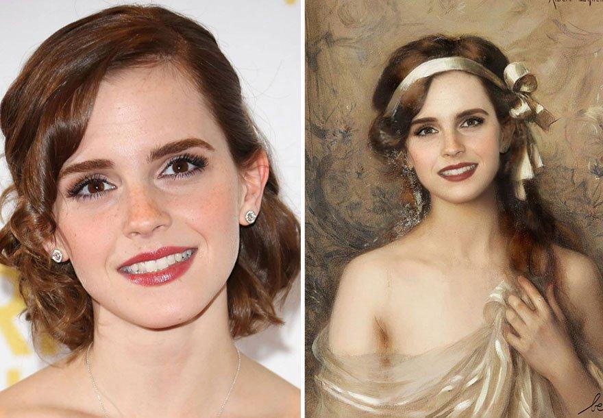 Emma Watson Historical Celebrity