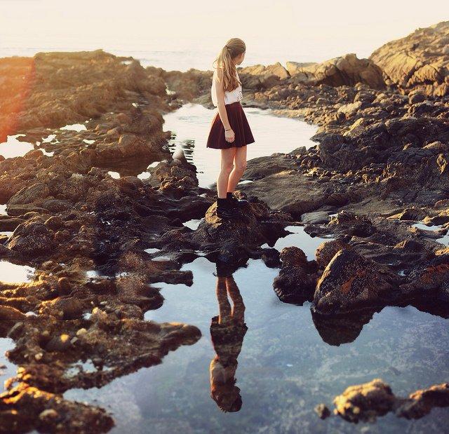 Explorer has no age boundaries Water Reflections