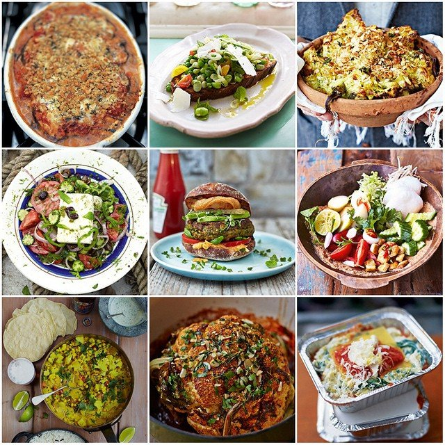 Feast Idea on a meat free week!! Jamie Oliver