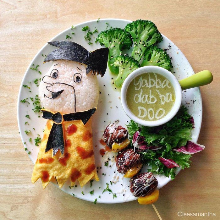 Flinstone - Yabba dabbo Doo Food Artists