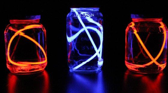 Glow stick jars Mason Jar