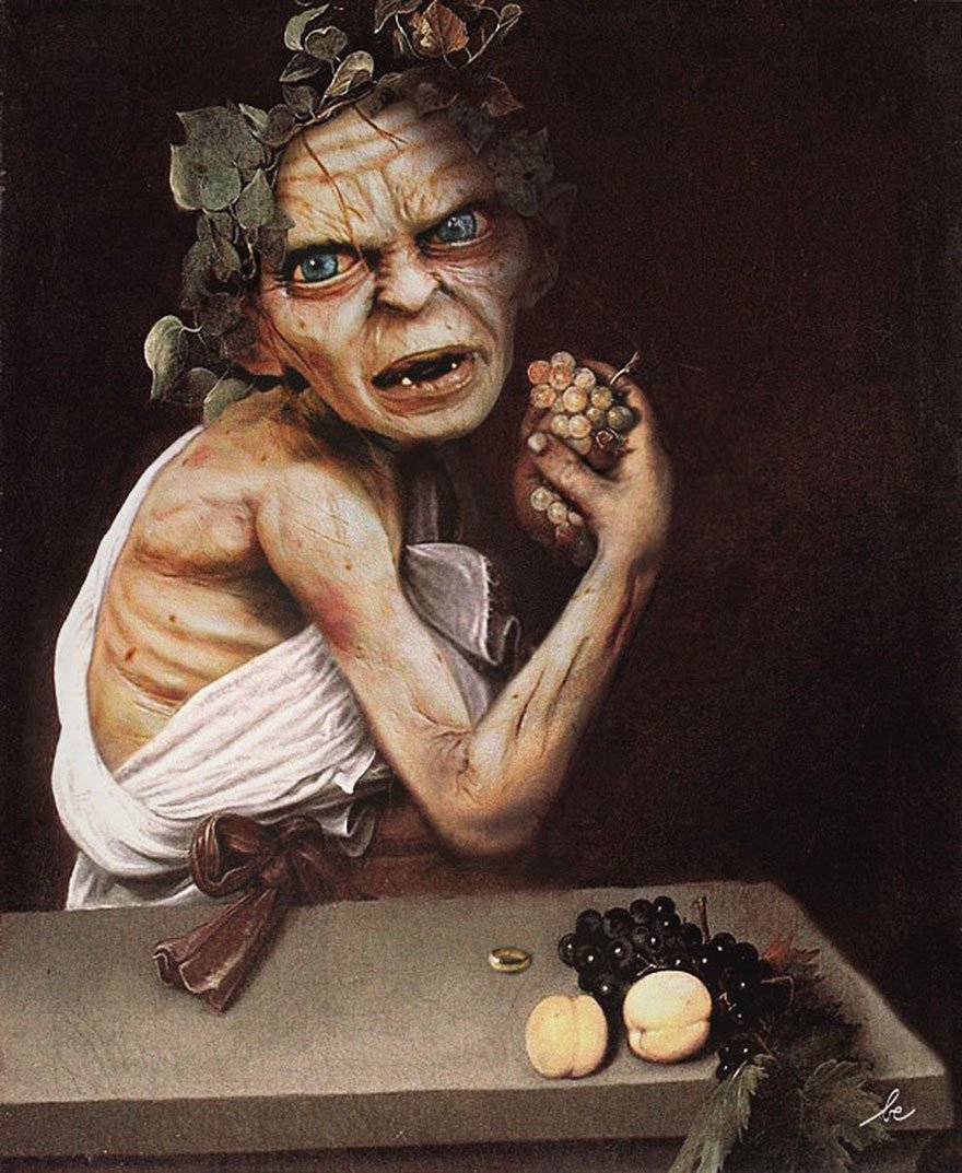 Gollum Historical Celebrity