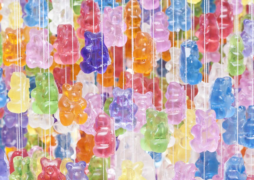 Gummy Chandelier Creative lights