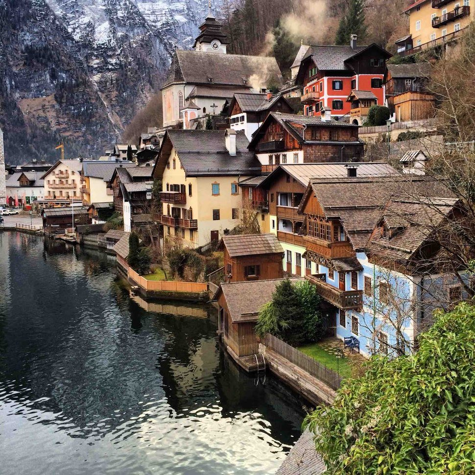 Halstatt Small Towns
