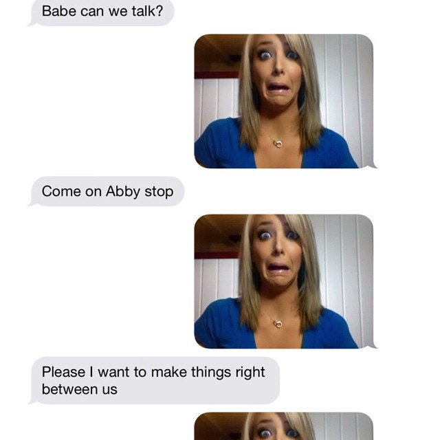 Hilarious Reply Ex Texts