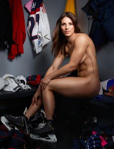 Hilary Knight – Olympic Hockey Forward Naked Athletes