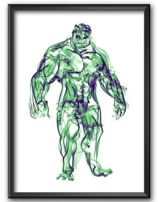 Hulk Smoke Posters
