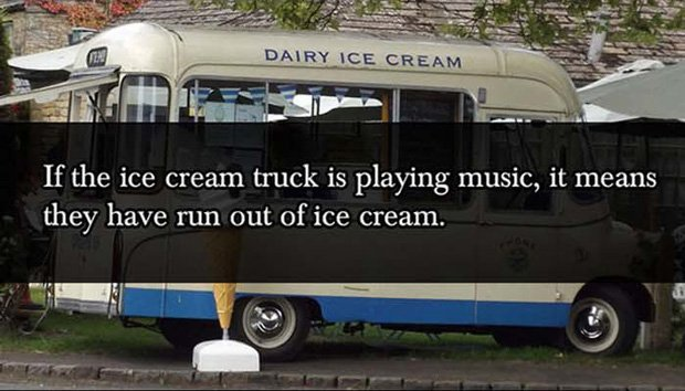 Ice Cream Truck Parent Lies