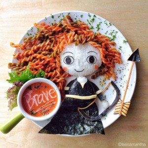 Inspired from Brave Food Artists