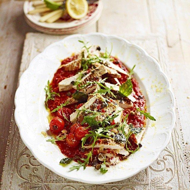 Italian classic - chicken arrabbiata Jamie Oliver