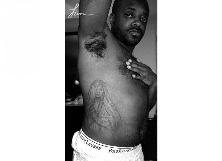 JERMAINE DUPRI worst celebrity tattoos
