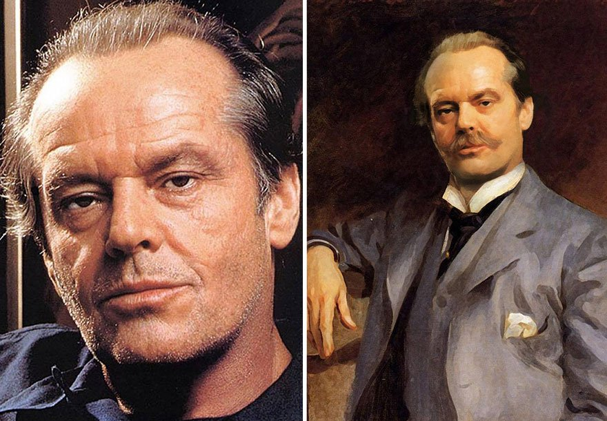 Jack Nicholson Historical Celebrities