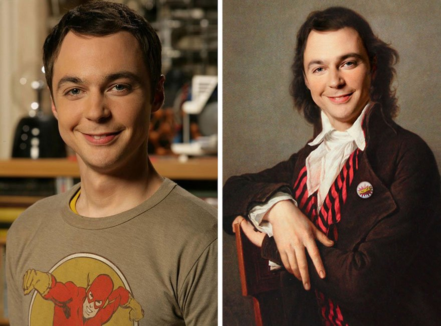 Jim Parsons (Sheldon) Historical Celebrities
