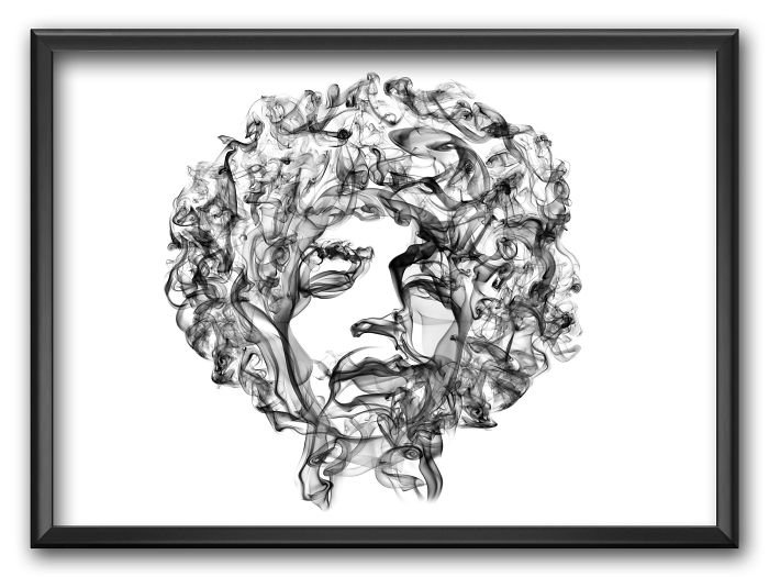 Jimi Hendrix Smoke Posters