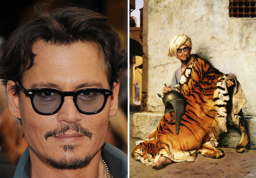 Johnny Depp Historical Celebrities