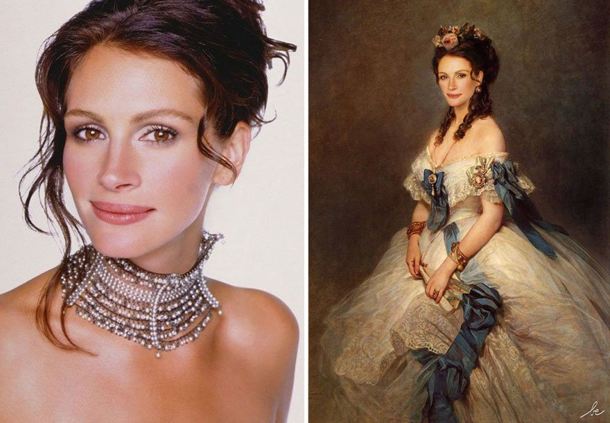 Julia Roberts Historical Celebrities