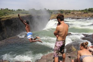 Jump in the Devil's pool, Zambia Adventure travel ideas