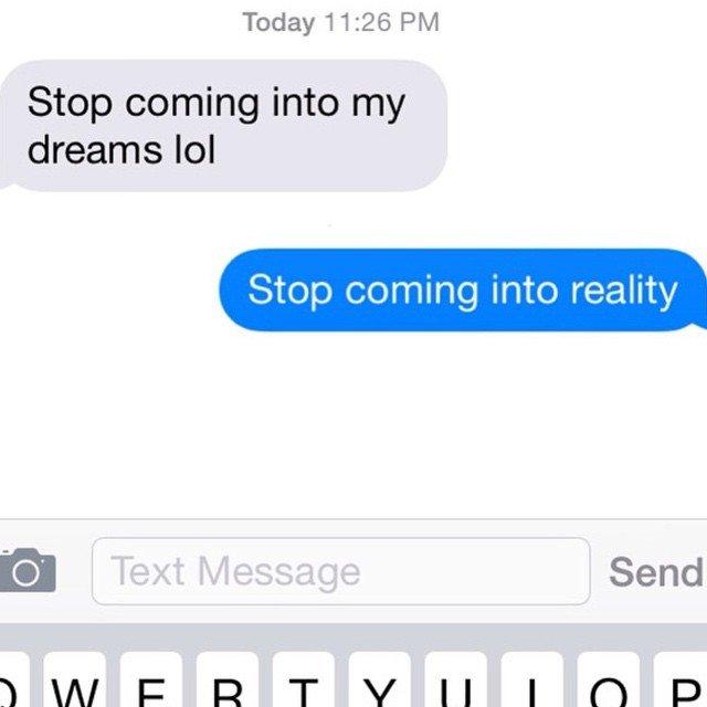 Just. Stop. Ex Texts