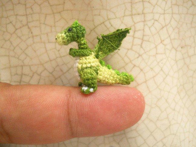 Killer Dragon Tiny Crochet