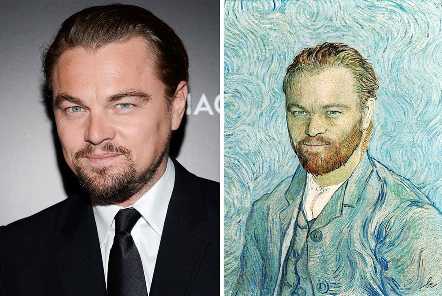 Leonarto Dicaprio Historical Celebrities