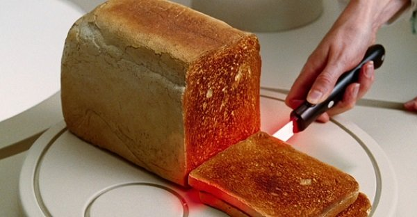Lightsaber Toasting Knife Cool Invention