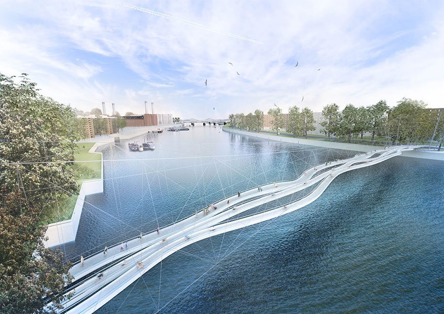 Fairylike design proposals for the london bridge for Design bridge london