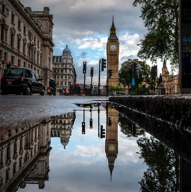 London Water Reflections