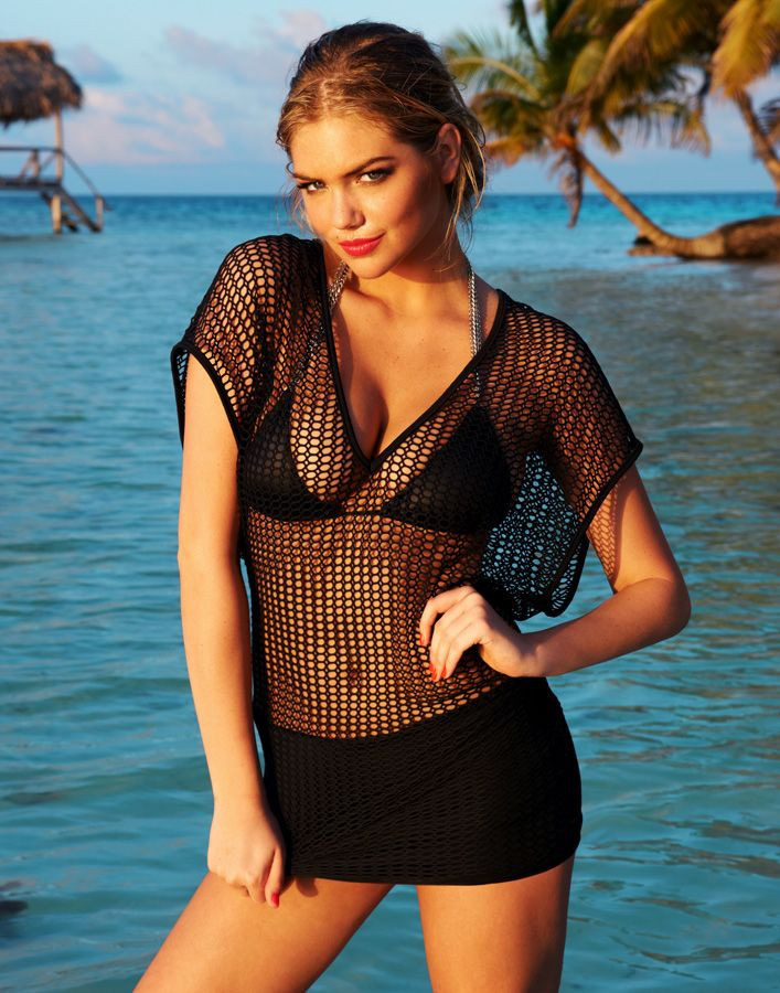 Lose yourself in deep blue ocean Kate Upton