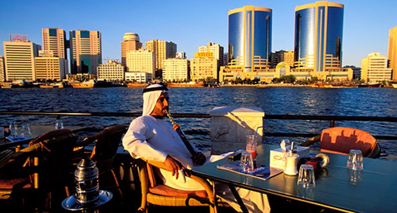 Luxurious Shisha smoking Crazy Dubai