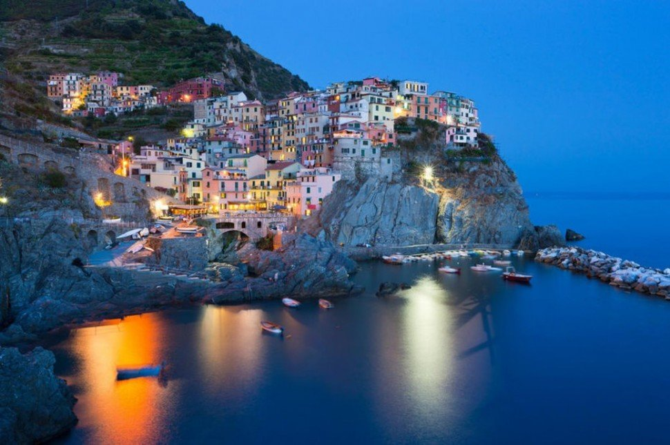 Manarola Small Towns