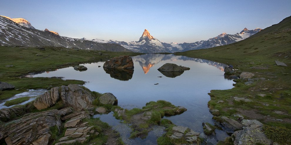 Matterhorn - highest summits in Europe Stunning Switzerland