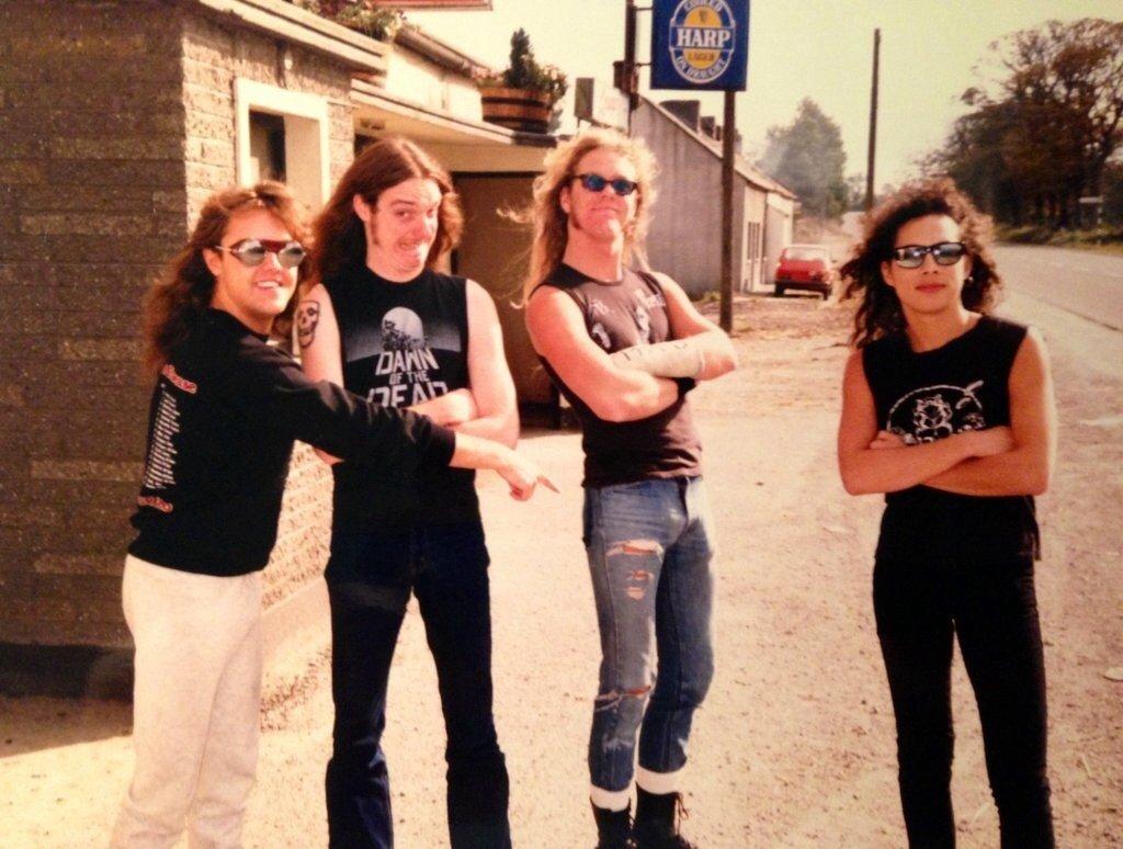 Metallica Rare Photos
