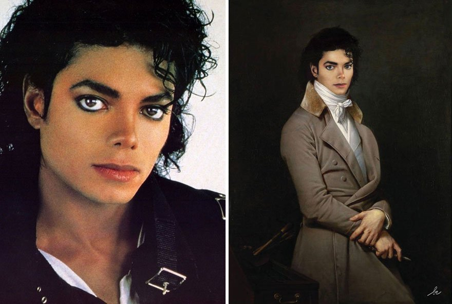 Michael Jackson Historical Celebrities