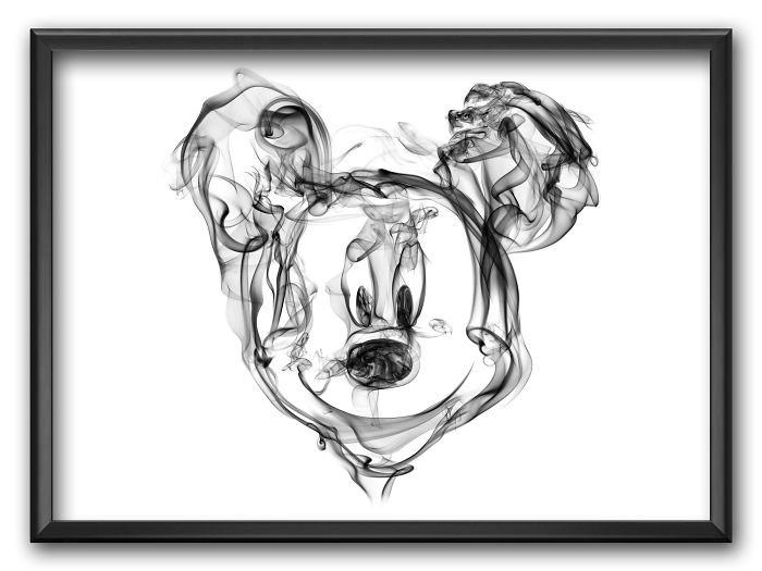Mickey Mouse Smoke Posters