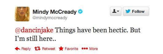 Mindy (died in 2013) Last Tweets