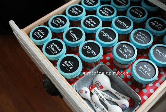 Mini spice containers Mason Jars
