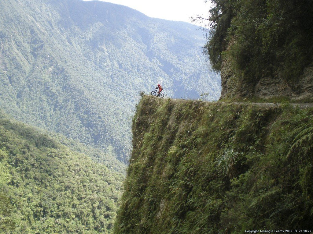 Mountain Biking in the worlds most dangerous road, Bolivia Adventure travel ideas