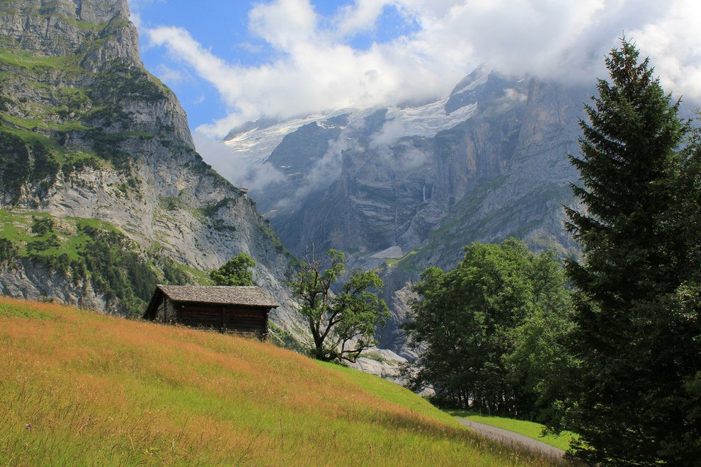 Mountain picnic waiting for you Stunning Switzerland